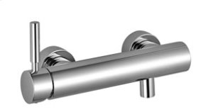 Single-lever shower mixer for wall-mounted installation - chrome Product Image
