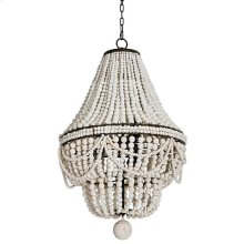 Malibu Chandelier (weathered White)