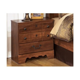 Timberline Two Drawer Night Stand