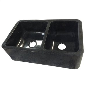 "Aubrey Double Bowl Reversible Granite Farmer Sink - 36"" Product Image"