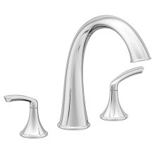 Symmons Elm® Two Handle Roman Tub Faucet - Polished Chrome