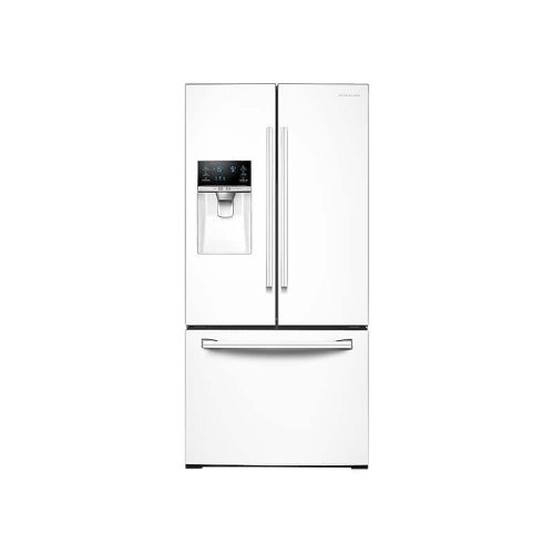 26 cu. ft. 3-Door French Door Refrigerator with CoolSelect Pantry in White