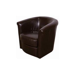 Marvel Swivel Chair Brown