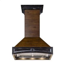 "ZLINE 42"" Designer Series Wooden Wall Range Hood with Crown Molding (321AR-42) **NEW MODEL**"
