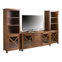 Plaza Pier Cabinet and TV Console
