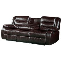 """Gramercy Leather Reclining Sofa - 82""""L x 38.5""""D x 39""""H"""