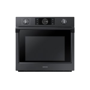 """30"""" Flex Duo™ Single Wall Oven in Black Stainless Steel Product Image"""