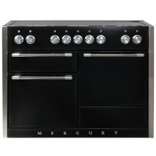 AGA Mercury 48 Induction Gloss Black with Chrome trim