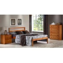 Berkeley Platform Bed (Pecan)