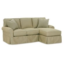Premium Collection - Nantucket Three Cushion Sofa With Chaise Kit