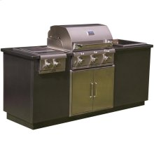 I Series EZ Outdoor Kitchen - Silver