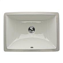 16 Inch X 11 Inch Undermount Ceramic Sink In White