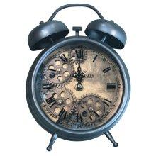 Gunpowder and Brass Gears Table Top Clock