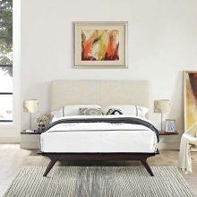 Tracy 3 Piece Queen Bedroom Set in Cappuccino Beige