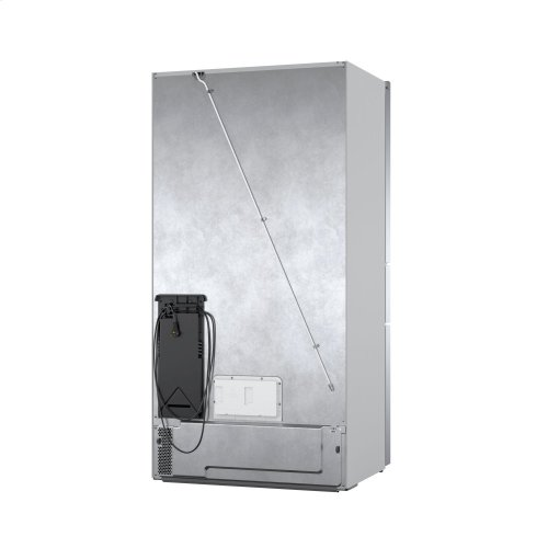 800 Series French Door Bottom Mount Refrigerator Easy clean stainless steel B36CL80ENS