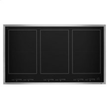 "Lustre Stainless 36"" Induction Flex Cooktop"