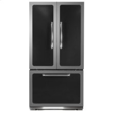 Black Classic French Door Refrigerator