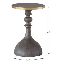 Upturned Goblet Side Table