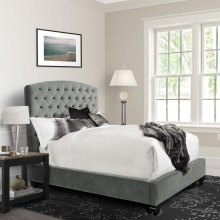 Priscilla Dusk Upholstered Bed Collection