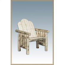 Montana Log Deck Chair