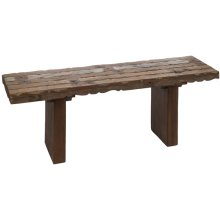 Reclaimed Spindle Bench (Each One Will Vary)