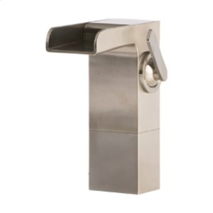 Vessel Lav Faucet Medium - Brushed Nickel Product Image