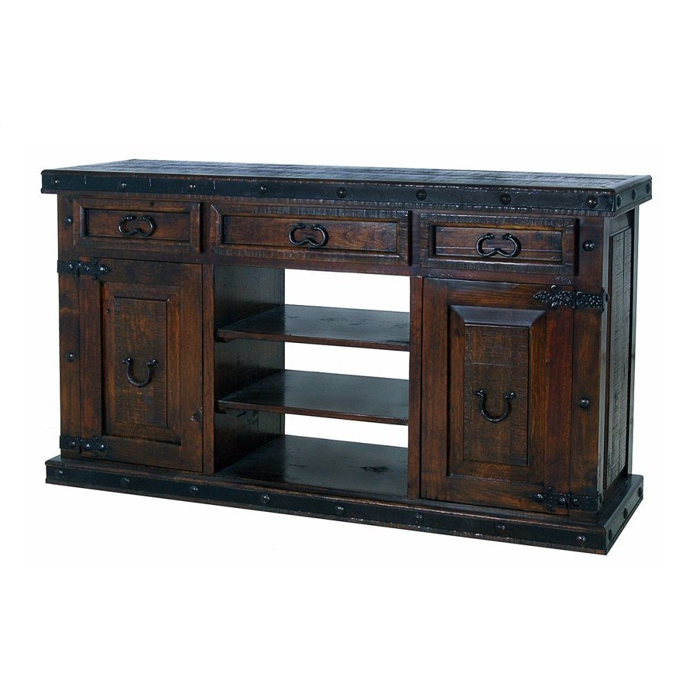 Gran Hacienda 3 Shelf Console