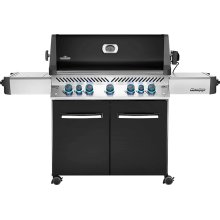 Prestige 665 RSIB Infrared Side & Rear Burners , Black , Natural Gas