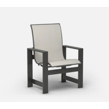 Low Back Dining Chair - Padded Sling