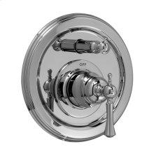 Pressure Balance Tub/Shower Valve & Trim - Lever Handle - Polished Chrome