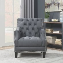 Accent Chair with Nailhead