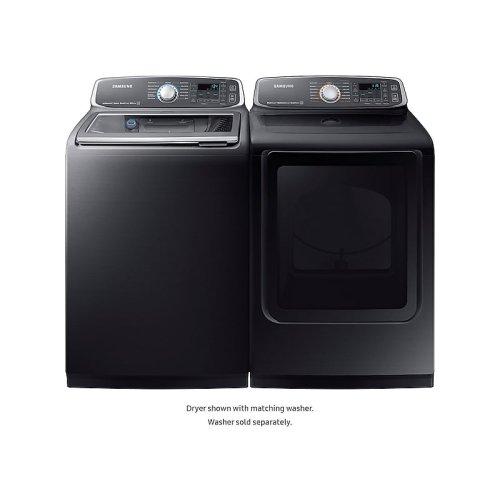 7.4 cu. ft. Gas Dryer in Black Stainless Steel