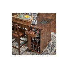 Paper Towel / Wine Rack Unit