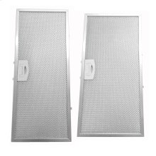 Set of two aluminum mesh filters for XOC36S