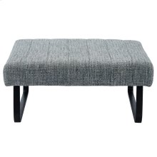 Sirus Square Cocktail Ottoman in Grey Blend