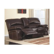 Glider REC Loveseat w/Console