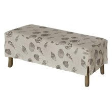 Short Bench Slip Cover