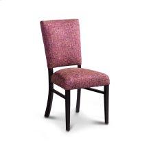 Karrige Side Chair, Leather Cushion Seat