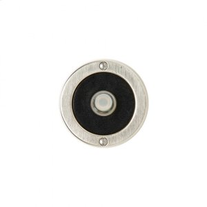 Round Designer Doorbell Button Silicon Bronze Brushed with Basic Product Image