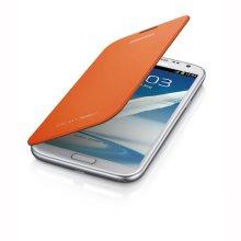 Galaxy Note II Flip Cover, ORANGE