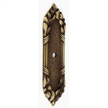 Ribbon & Reed Backplate A886 - Antique English