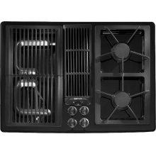 "Designer Line Gas 30"" Modular Downdraft Cooktop"