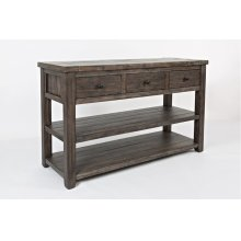 Madison County Sofa Table - Barnwood