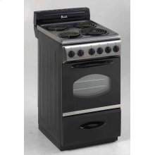 """20"""" Electric Range - Stainless Steel"""