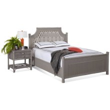 Summer Retreat Upholstered Bedroom Set