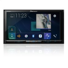 """Flagship In-Dash Multimedia Receiver with 7"""" WVGA Clear Resistive Touchscreen Display"""