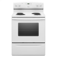 Amana® 30 inch Free Standing Electric Range