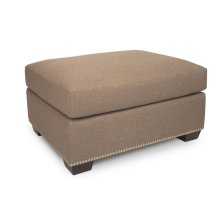 INSPIRE Ottoman (Clean Base, Tapered Leg & Nails)