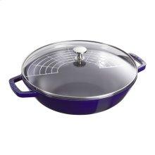 Staub Cast Iron 4.5-qt Perfect Pan, Dark Blue
