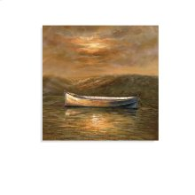 Sunset Canoe- Canvas